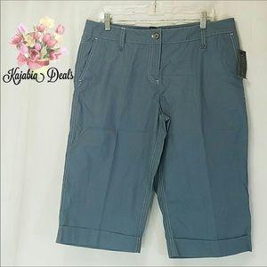 RAFAELLA Bermuda Shorts. Size 14 NWT 💥JUST IN💥